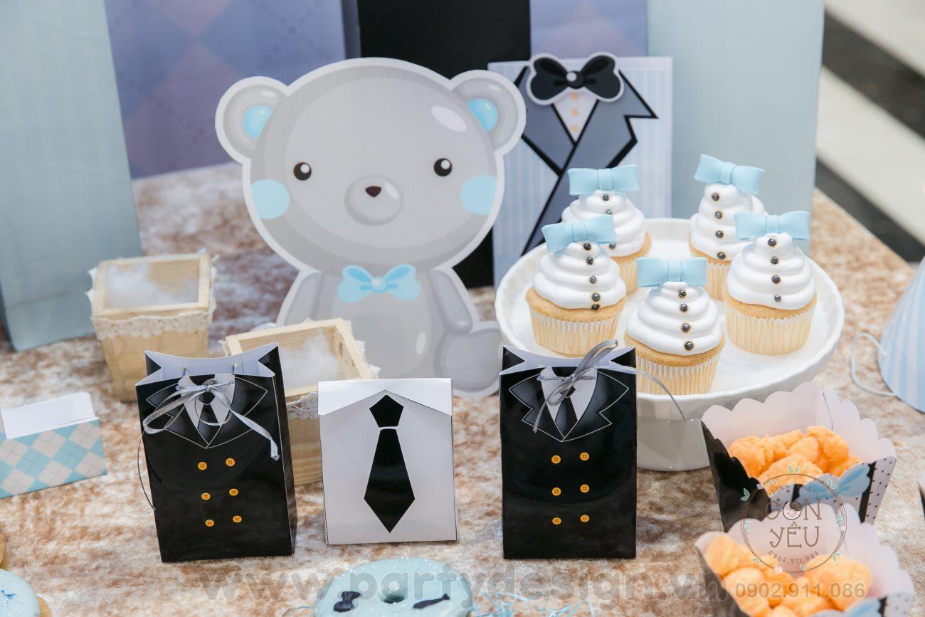 Trang trí sinh nhật bé trai chủ đề Baby Boss - Will