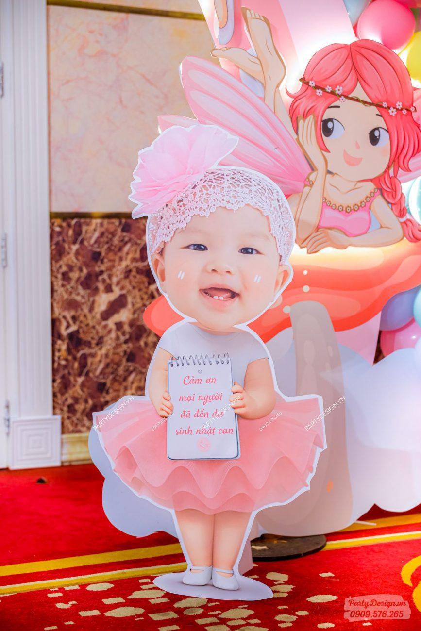 Chibi sinh nhật cho bé Lani