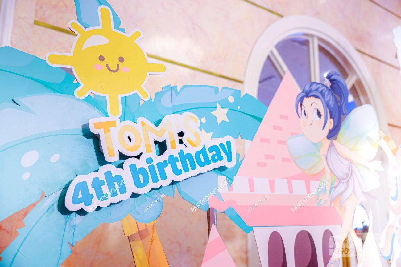 Cổng trang trí sinh nhật chủ đề Công Chúa & Unicorn